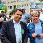 Vaalityö jatkuu- Secim Calismalarina devam